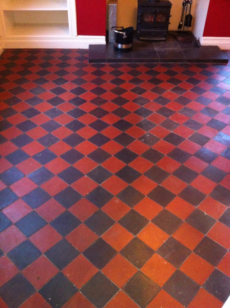 Red-and-Black-Quarry-Tiles-Before