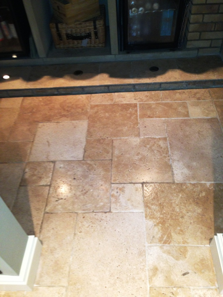 Travertine Floor West Disbury After