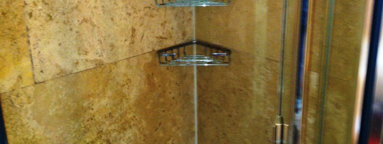 Problems with Travertine in Shower