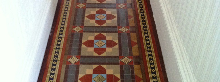 Victorian Floor Tile Cleaning