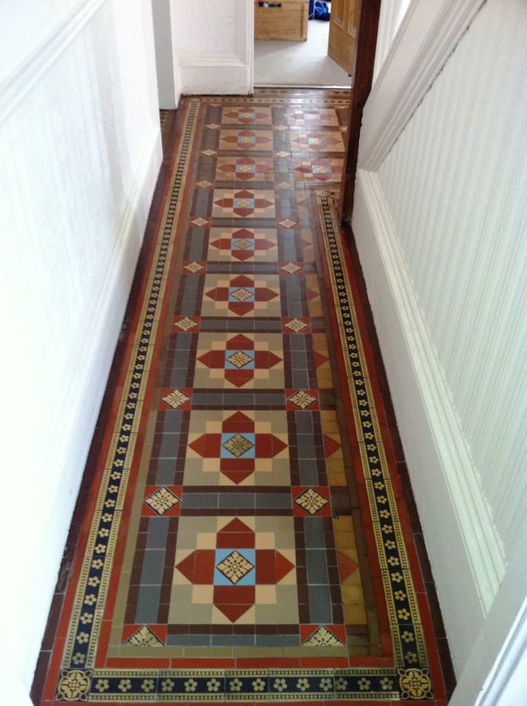 Victorian-floor-tiles-After-cleaning-and-sealing