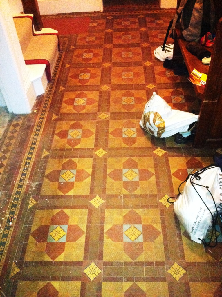Victorian-floor-tiles-before-cleaning