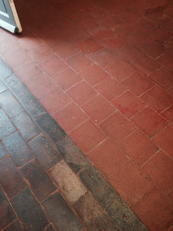 Painted Quarry Tiles Quarry Tiled Floors Cleaning And