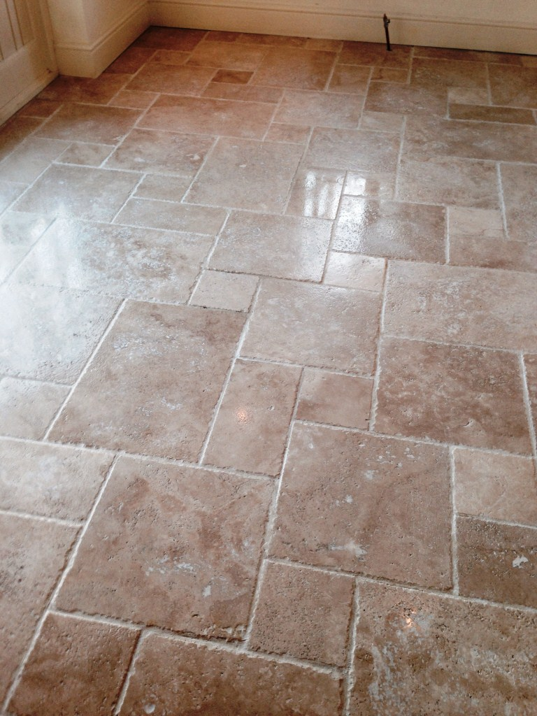 Travertine Stratford upon Avon After Cleaning