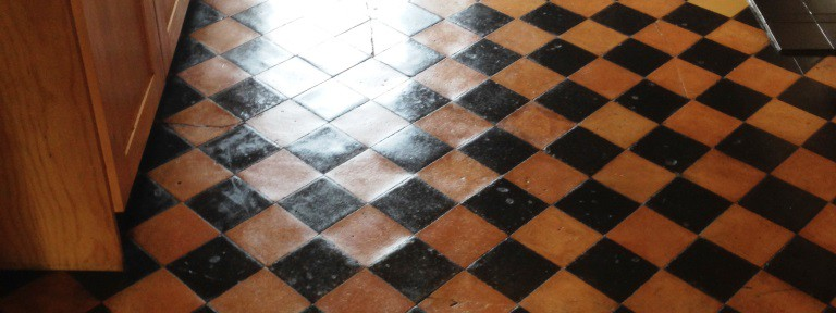 Terracotta floor cleaning Didsbury after