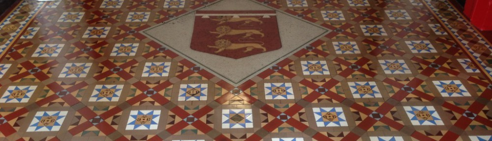 Restoring Victorian Tiles at the Salford Town Hall
