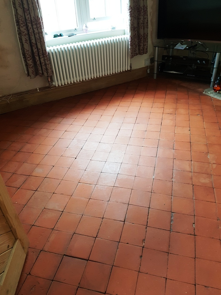 Quarry Tiles in Hale After Cleaning
