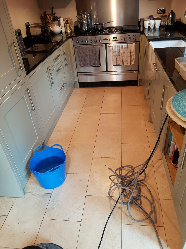 Cleaning Polishing And Sealing Travertine Floors In Newton Heath Greater Manchester Tile Doctor