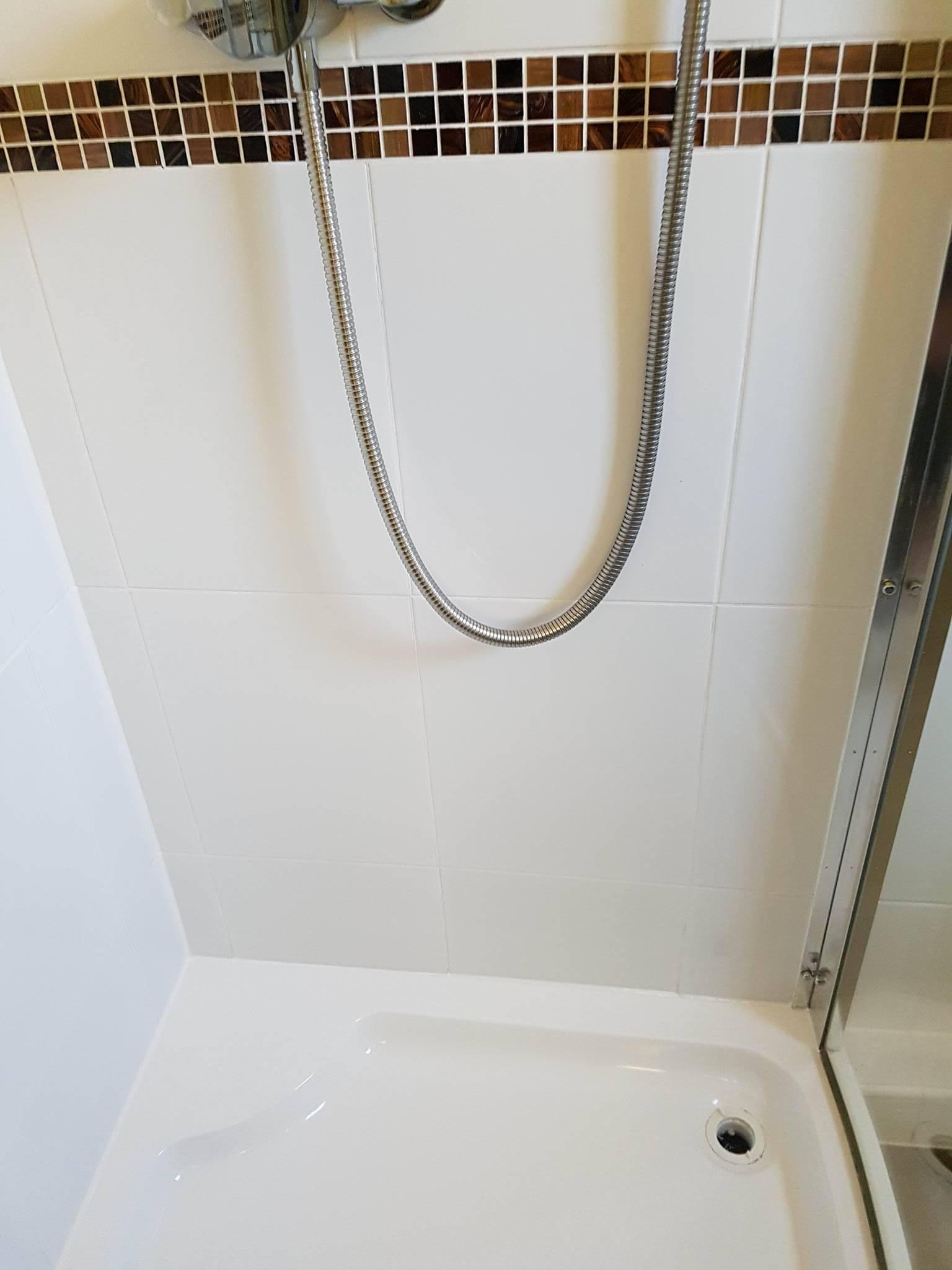 Ceramic Tiled Shower After Restoration Moston
