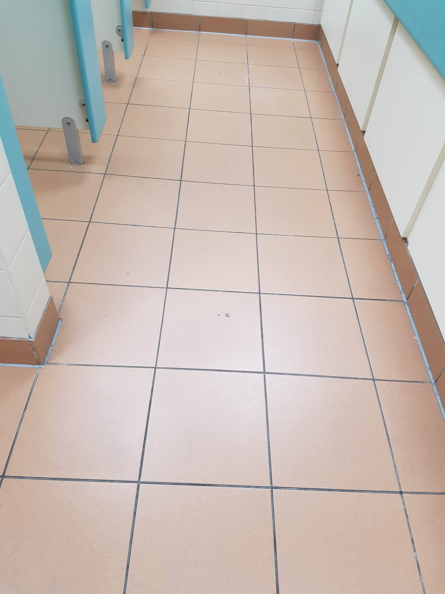 Toilet Floor at Corporate Offices Manchester Before Cleaning