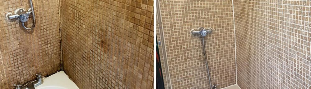 Tile and Grout Refresh for Neglected Bathroom in Stockport