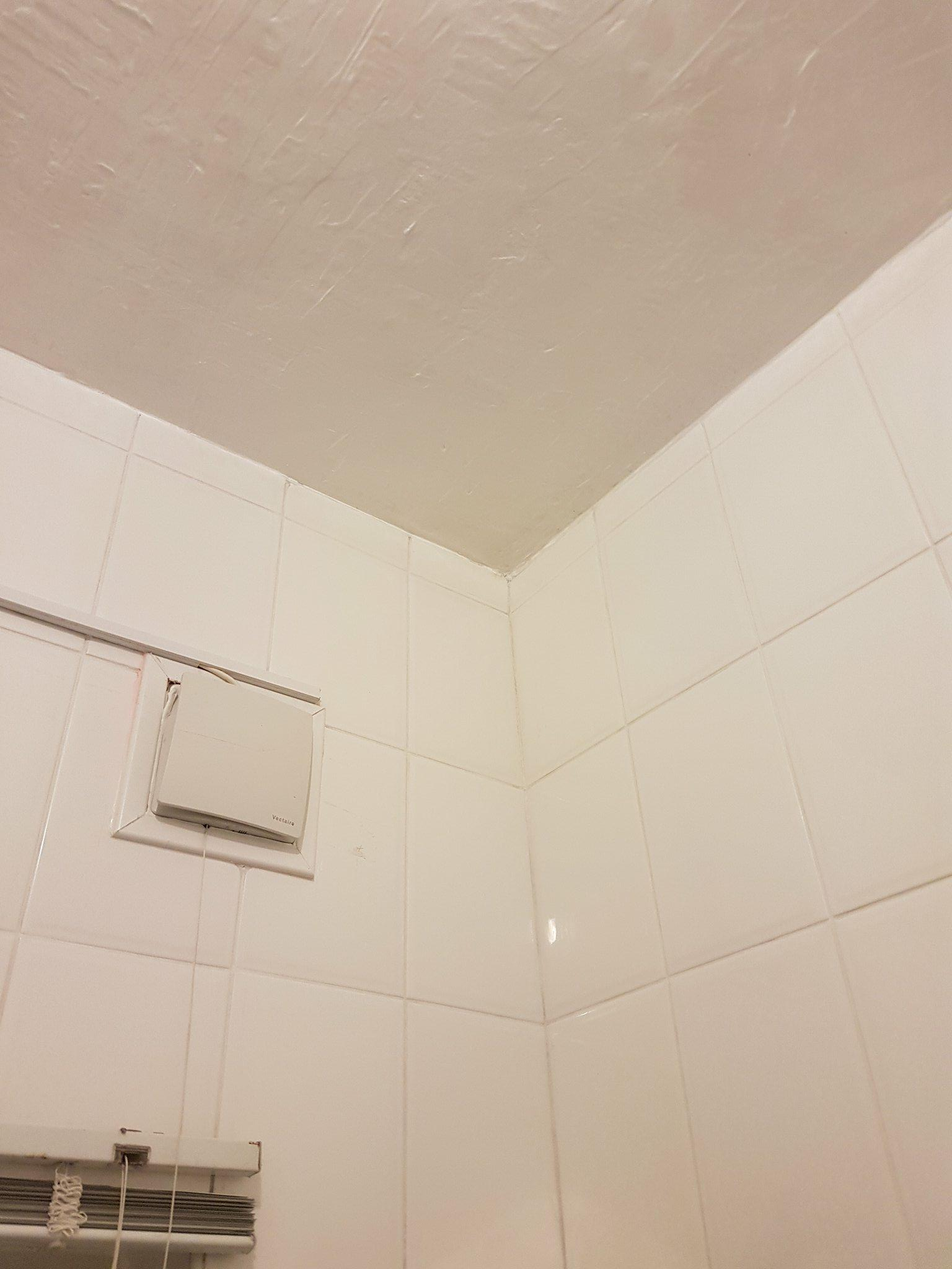 Mouldy Bathroom After Restoration in Eccles