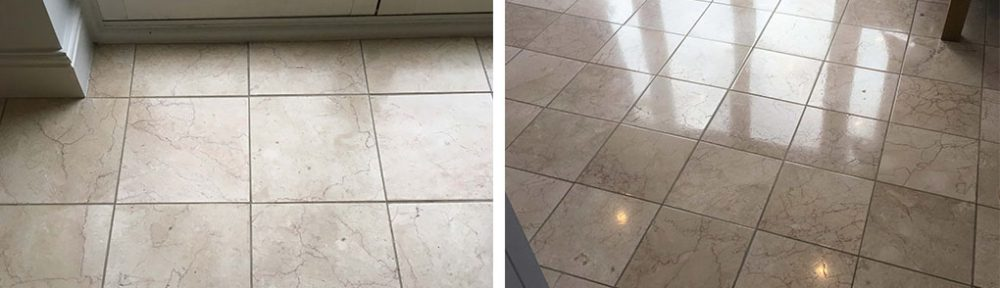 Marble Floor Tiles Polished and Sealed in Middleton, Manchester