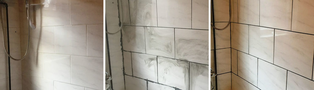 Flaking Grout Renovation in Levenshulme Bathroom