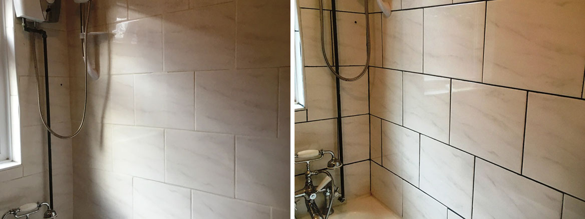 Ceramic Tiled Bathroom Before After Renovation Levenshulme