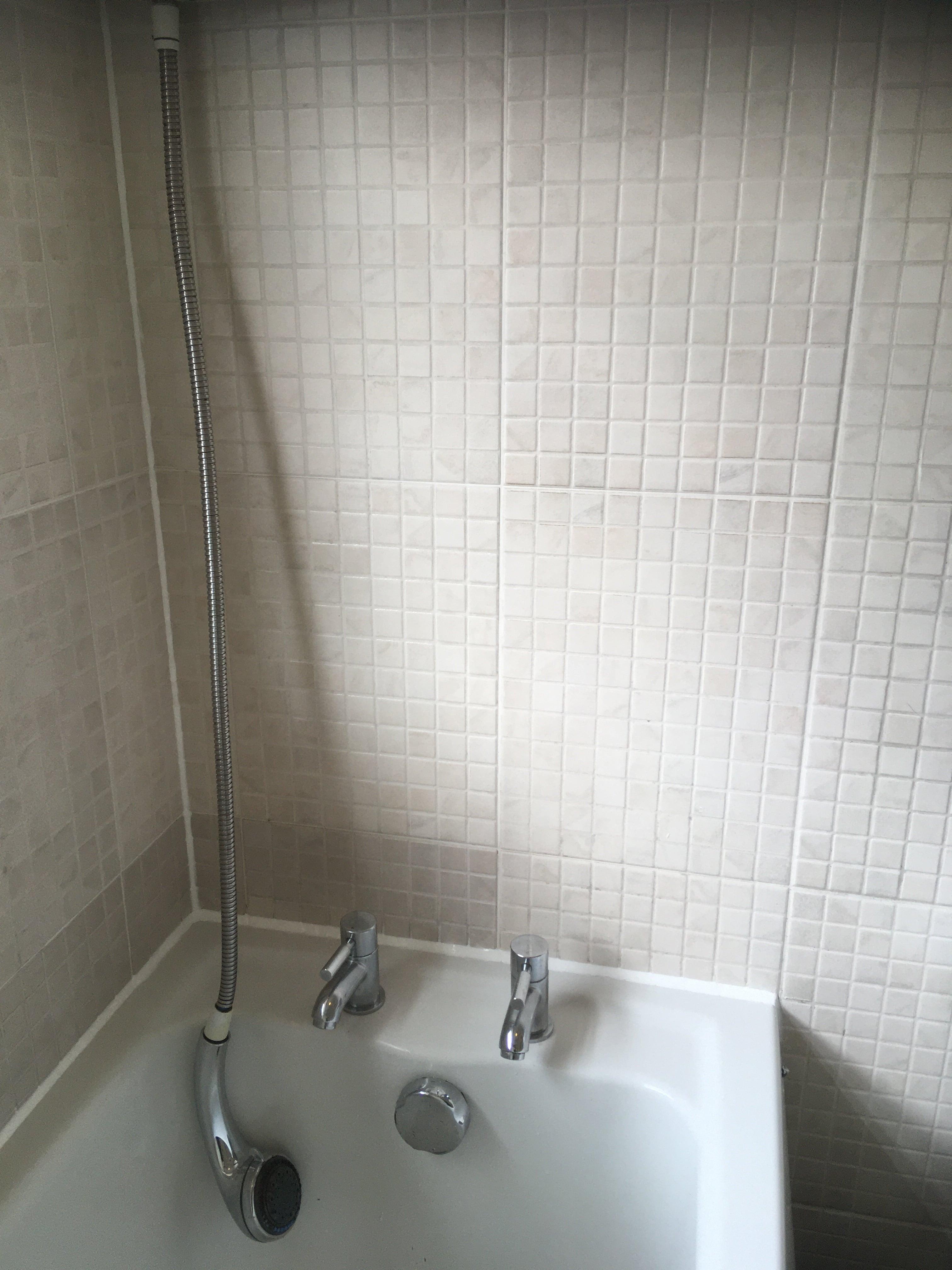 Mouldy Shower Bath Tiling After Renovation Levenshulme